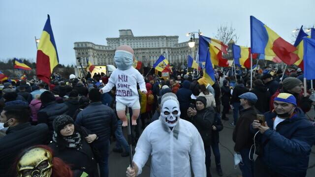 Protest în București - 14