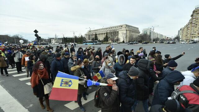 Protest în București - 16