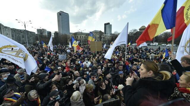 Protest în București - 18
