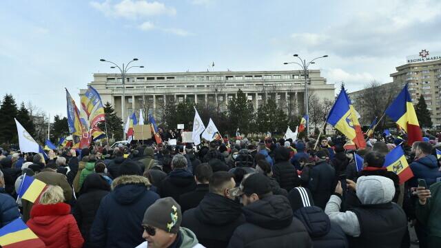 Protest în București - 19