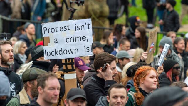 Protest în Londra - 3