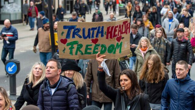 Protest în Londra - 4