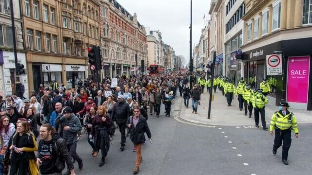 Protest în Londra - 6