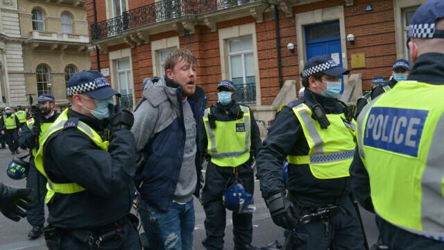 Protest în Londra - 7