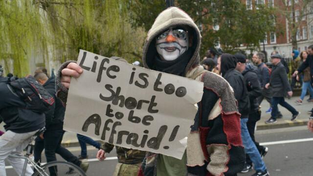 Protest în Londra - 8
