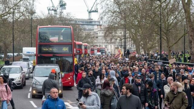 Protest în Londra - 9