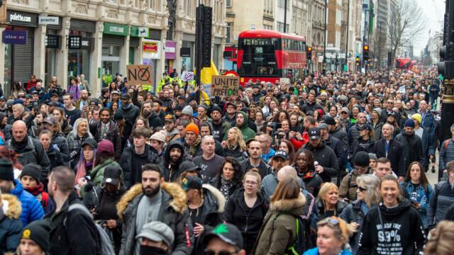 Protest în Londra - 10