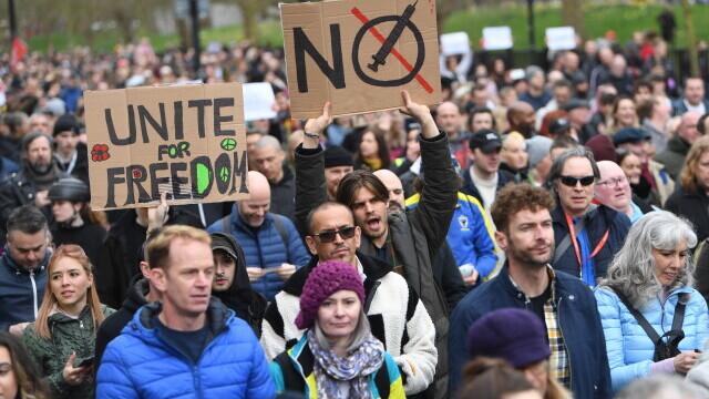 proteste, Marea Britanie