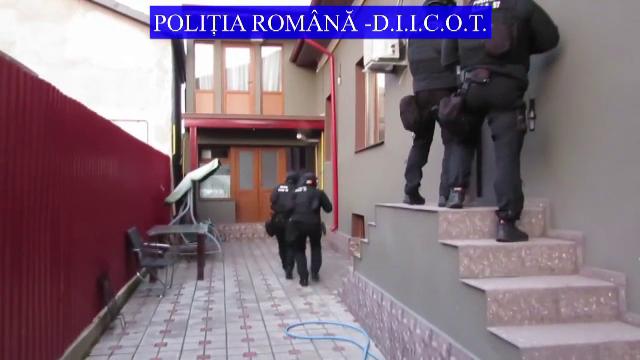 Una dintre cele mai mari rețele de trafic de droguri din România, destructurată. Unde acționau