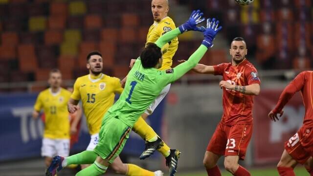 România - Macedonia de Nord 3-2, în preliminariile CM 2022
