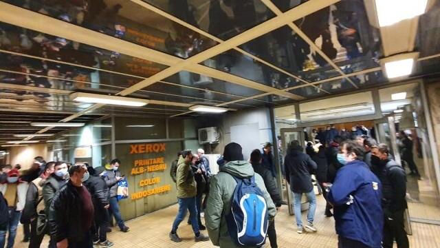 Protest metrou - 1