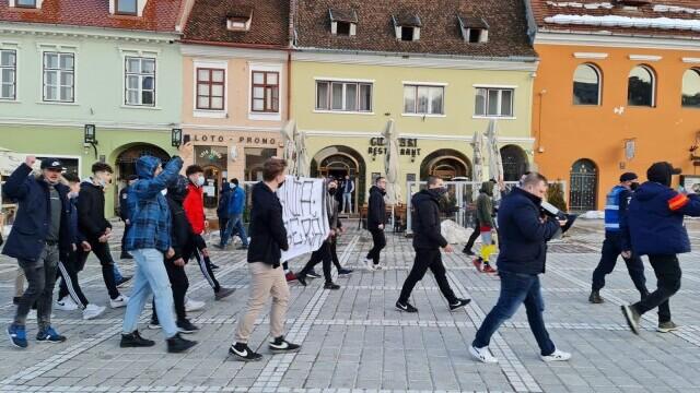 Protest Brașov