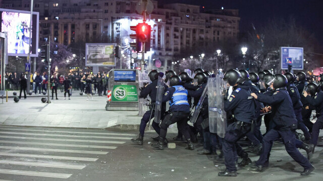 proteste, Bucuresti, covid-19, jandarmi