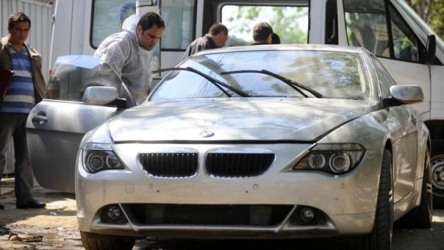Masina lui Hrebenciuc jr., furata de unul dintre membrii gruparii Geamanu