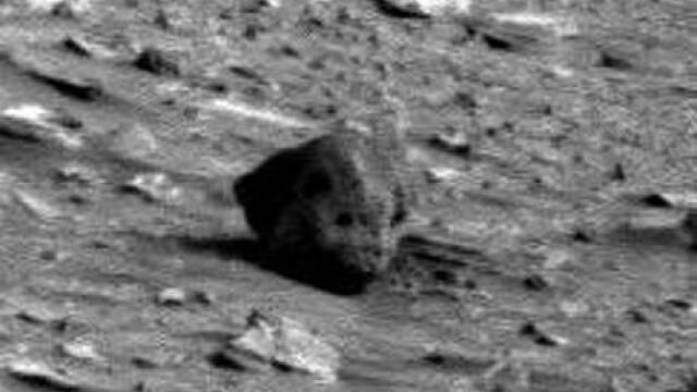 schelet pe Marte