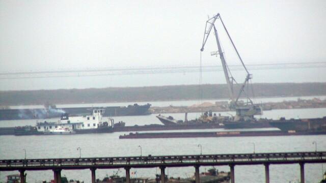 Porturile din Constanta au fost inchise din cauza vantului puternic