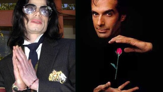 Michael Jackson, David Copperfield