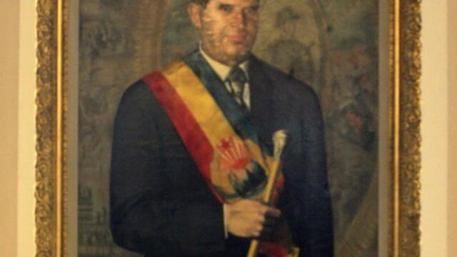 Portret Nicolae Ceausescu