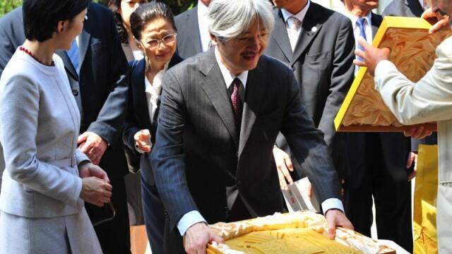Printul Akishino al Japoniei si Printesa Kiko a Japoniei,