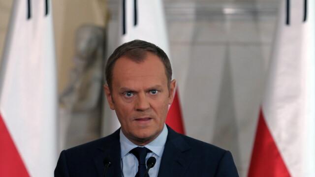 Premierul Poloniei, Donald Tusk, a fost desemnat la sefia Consiliului European
