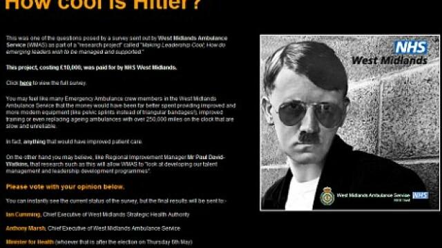Chestionar Hitler