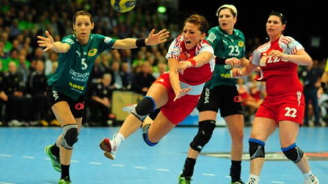 Echipa de handbal feminin Oltchim Ramnicu Valcea e vicecampioana Europei!