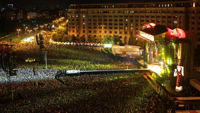 MEGA-concert! AC/DC a electrizat duminica seara Bucurestiul - Imaginea 2