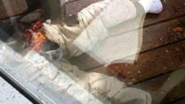 Prima sinucidere de pe cea mai inalta cladire din lume. Imagini socante - Imaginea 2