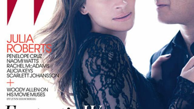 Julia Roberts se etaleaza. Picioare de gazela la 43 de ani - Imaginea 4