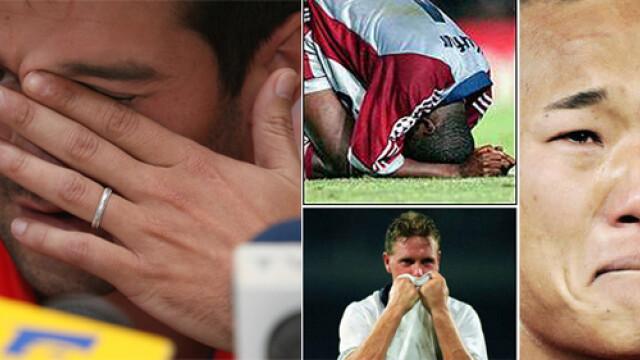 Lacrimile Capitanului! Top 10 momente emoţionante in fotbal. VIDEO