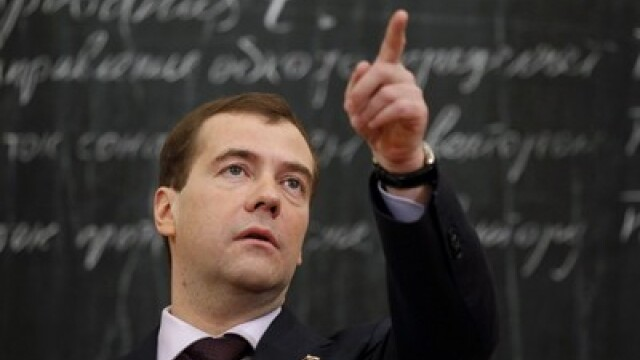 Batalia pentru Rusia. Medvedev