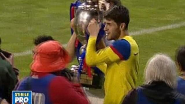 Steaua a luat Cupa. Fiesta pe strazi pentru fani. Vezi cum s-au distrat jucatorii