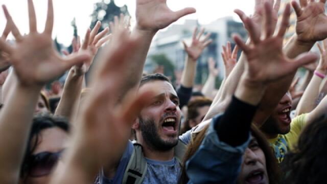 Proteste criza