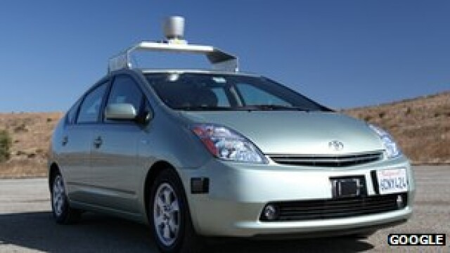 Toyota Prius Google