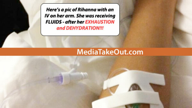 """Medicii pentru National Enquirer: """"Rihanna ar putea sa moara maine din cauza insuficientei hepatice"""" - Imaginea 1"""