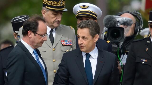 Hollande a trecut prin fulgere pentru a ajunge la Angela Merkel. Criza din Grecia, pusa sub lupa