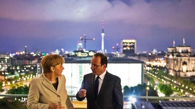 Hollande si Merkel
