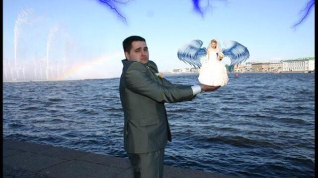 FOTO. Photoshop-ul pe mainile macelarilor. Pozele de nunta care nu vor intra in albumul de familie - Imaginea 6