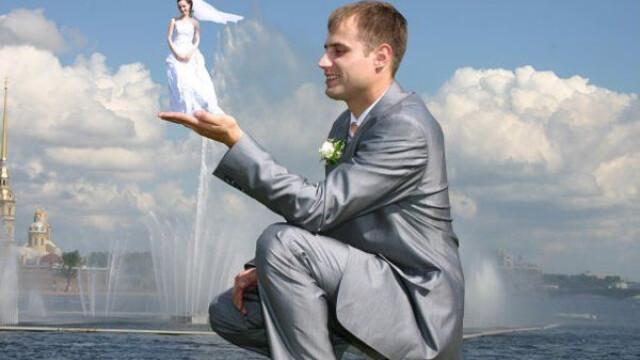 FOTO. Photoshop-ul pe mainile macelarilor. Pozele de nunta care nu vor intra in albumul de familie - Imaginea 8