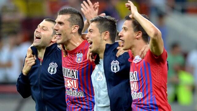 Steaua, campioana de Paste. Stelistii au cucerit titlul 24 cu 5 etape inainte de finalul sezonului