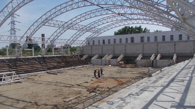 Sala Polivalenta a Politehnicii, extinsa la 2.500 de locuri. Afla care este stadiul lucrarilor