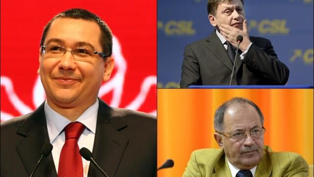 Scandalul USL, cazul judecatorului Barsan. De la ce a pornit cearta lui Ponta cu Stanescu