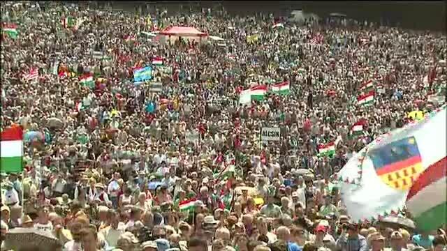 Pelerinaj impresionant in Harghita: 150.000 de oameni, dar nicio busculada sau macar o voce ridicata - Imaginea 2