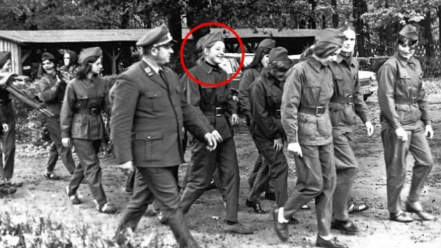 Angela Merkel in 1972