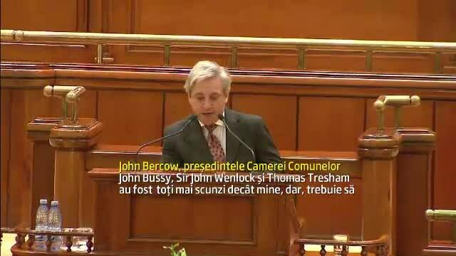 John Bercow la parlament