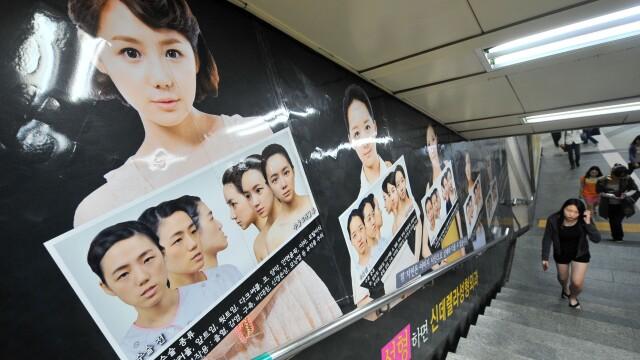 Lumea bizara in care traim. Tot mai multi sud-coreeni isi taie barbiile, sa fie mai frumosi. FOTO - Imaginea 4