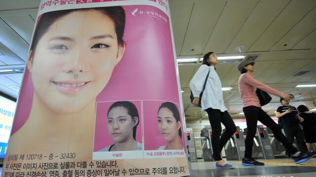 Lumea bizara in care traim. Tot mai multi sud-coreeni isi taie barbiile, sa fie mai frumosi. FOTO - Imaginea 5