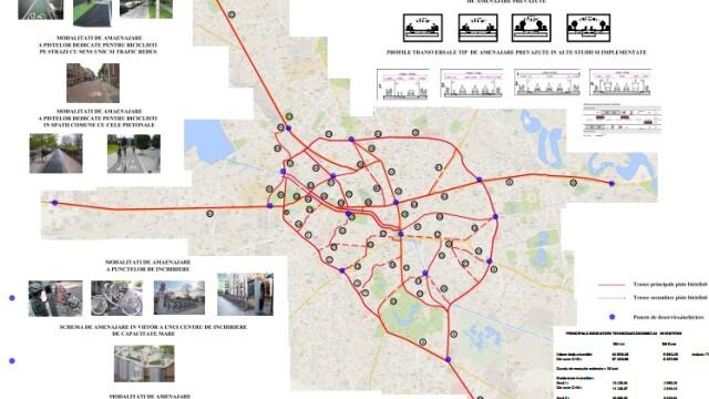 10 milioane de euro pentru 100km de piste pentru biciclisti. HARTA celor 61 de artere ce vor strabate Capitala pana in 2016 - Imaginea 5