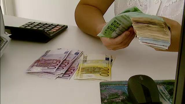 bani, bancnote, euro