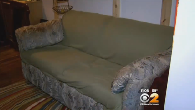 40.000 de dolari, ascunsi intr-o canapea
